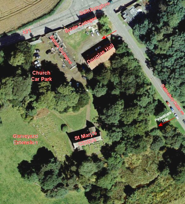 Arial View Of St Mary's