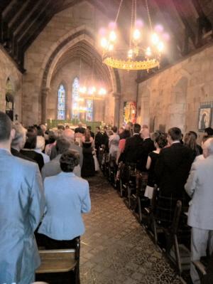 Bridal Procession Arrives